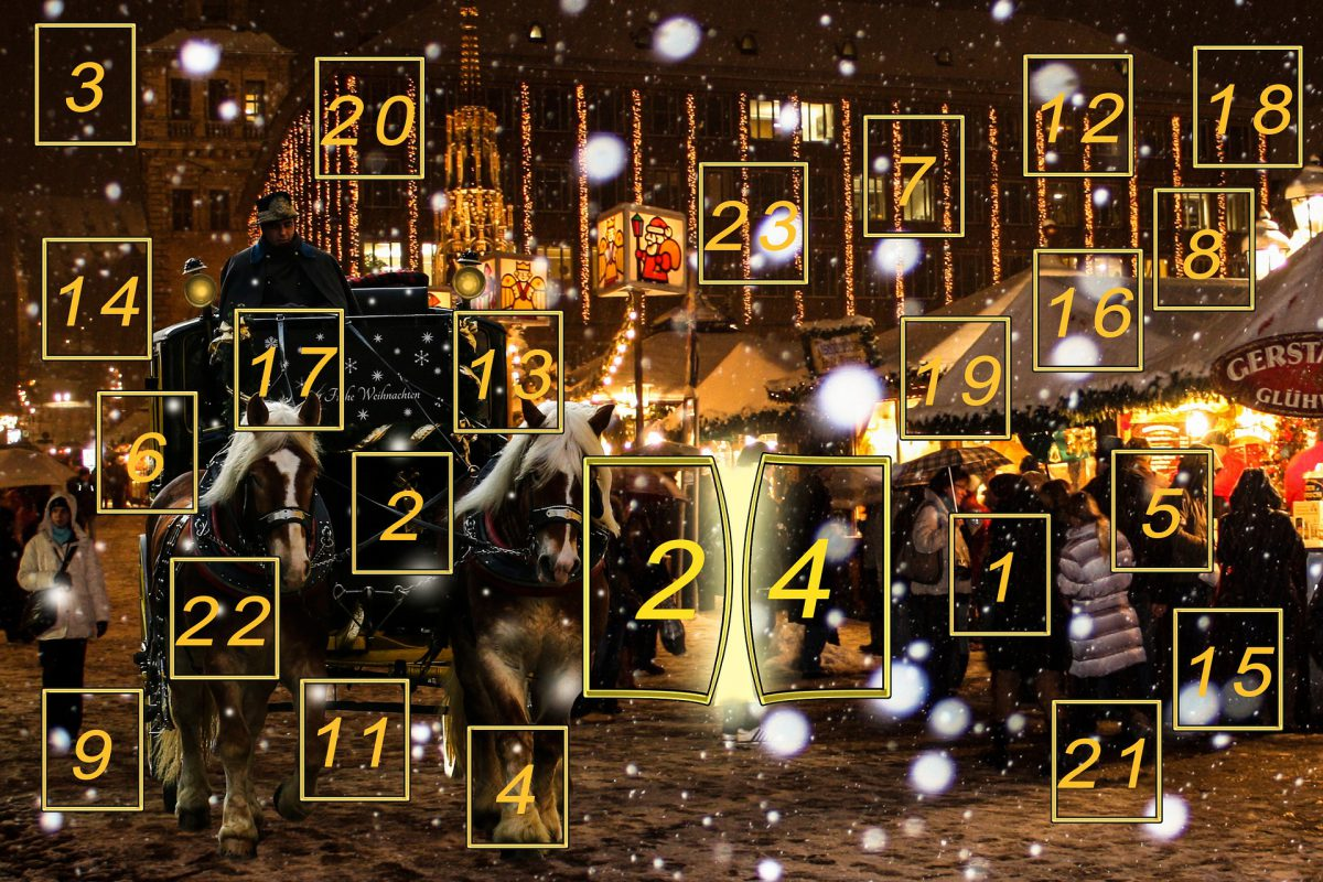 "German Christmas – the idea behind the ""Adventskalender"""